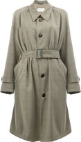 Maison Margiela belted trench coat - women - Cotton/Viscose/Virgin Wool - 40