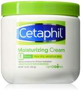 Cetaphil Moisturizing Cream for Very Dry/Sensitive Skin, Fragrance Free 16 oz