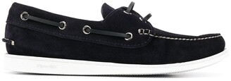 Church's lace-side boat shoes