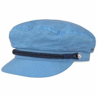 Stetson Dyed Cotton Riders Cap Women - Sailors Baker boy hat with Peak
