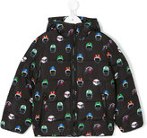 Stella McCartney helmet print padded jacket