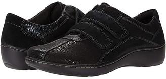 Clarks Cora Azalia (Black Synthetic/Leather Combination) Women's Shoes