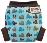 Pop-In Close Swim Nappy (Small, Blue Turtle)
