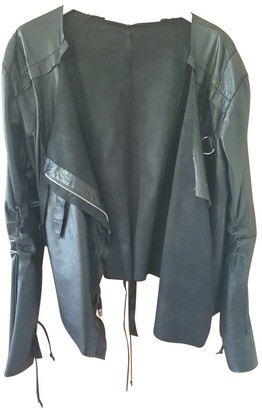 Jitrois Black Leather Leather jackets