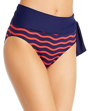 Tommy Bahama Sea Swell High-Waist Bikini Bottom