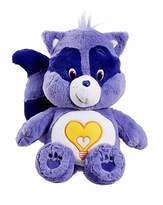 Care Bears Plush with DVD Raccoon