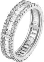 Master of Bling Engagement Eternity Wedding Ring Bridal Womens Band 925 Sterling Lab Diamonds