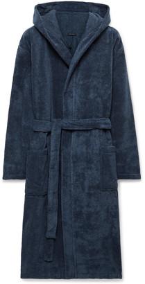 Schiesser Cotton-Terry Hooded Robe