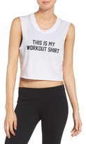Private Party Women's This Is My Workout Shirt Tank