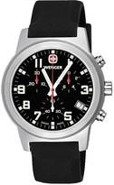Wenger Field Chronographic Large Swiss Quartz Watch - Rubber Strap