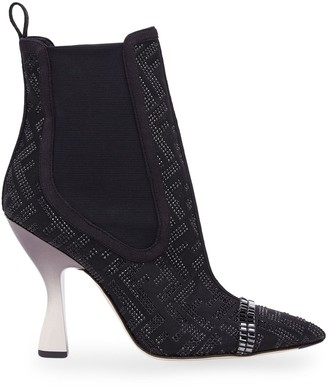 Fendi Colibri pointed ankle boots
