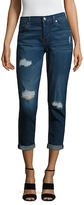 7 For All Mankind Josefina Distressed Skinny Jean