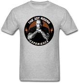 TLMKKI Men's The Joe Rogan Experience T-shirt Grey L