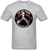 TLMKKI Men's The Joe Rogan Experience T-shirt Grey M
