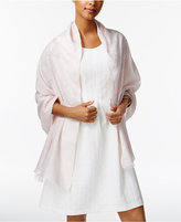 INC International Concepts Metallic Floral Evening Wrap, Only at Macy's