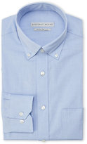 Geoffrey Beene Blue Wrinkle-Free Regular Fit Dress Shirt