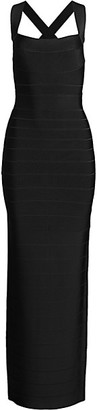 Herve Leger Icon Maxi Dress