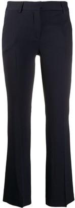 L'Autre Chose plain slim cropped trousers