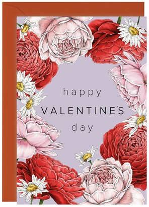 Catherine Lewis Design Happy Valentine's Day Greeting Card