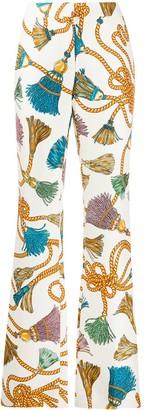 Moschino Tassel Print Trousers