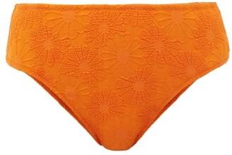 Dodo Bar Or Morgan High-rise High-leg Bikini Briefs - Orange