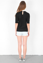 Wildfox Couture Super Model Sweater in Black
