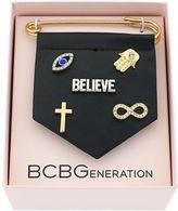 BCBGeneration For Pins Sake Believe Bracelet Charm