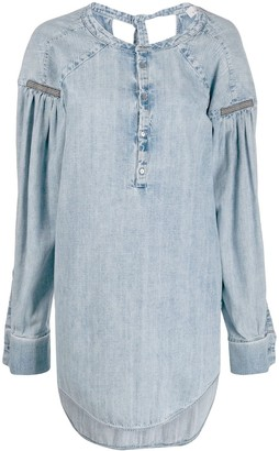 A.F.Vandevorst Cezanne denim top