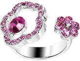 Body Candy Pink Flower Adjustable Ring