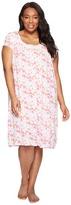 Eileen West Plus Size Modal Spandex Waltz Nightgown