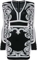 Balmain short Baroque dress