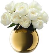 LSA International Polka Vase Gold