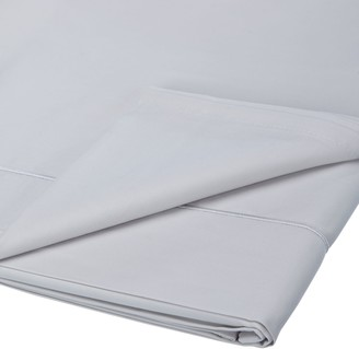 John Lewis & Partners Soft & Silky Egyptian Cotton 800 Thread Count Flat Sheet, Cool Grey