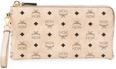 MCM printed clutch bag - women - Leather/Canvas - One Size