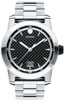 Movado Vizio Stainless Steel Bracelet Watch