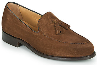 Barker STUDLAND men's Loafers / Casual Shoes in Brown