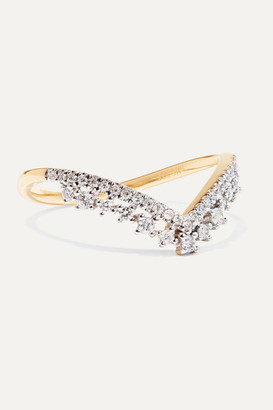 STONE AND STRAND 14-karat Gold Diamond Ring - 6