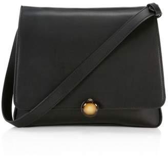 BY FAR Margot Leather Shoulder Bag