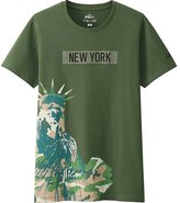 Uniqlo Men Sprz Ny A.warhol Short Sleeve Graphic T-Shirt