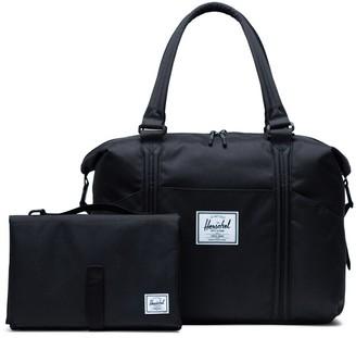 Herschel Strand Sprout Duffle Diaper Bag - Black