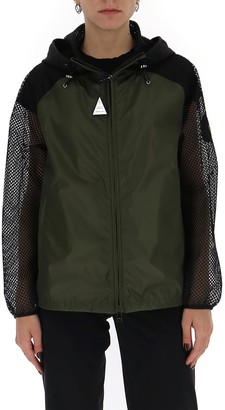 Moncler Persan Mesh Sleeve Jacket