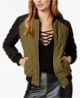 BB Dakota Loring Quilted Bomber Jacket