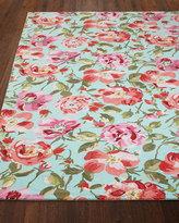 Dash & Albert Rose Parade Rug, 5' x 8'