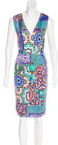 Blumarine Embellished Sleeveless Dress