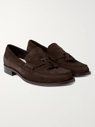 Paul Smith Lewin Suede Tasselled Loafers