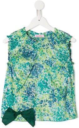 Familiar Printed Shell Top