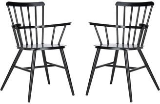 Safavieh Clifton Arm Chair/Matte Black