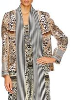 Camilla Animal Instinct Jacket With Removable Collar