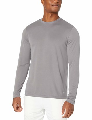 Amazon Essentials Men's Performance Tech Long-Sleeve T-Shirt