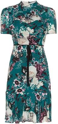 Erdem Anne floral mini-dress